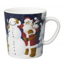 Arabia Santa Claus Mug 0.3 L Snowman