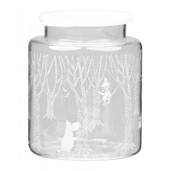 Moomin Glass Jar with...