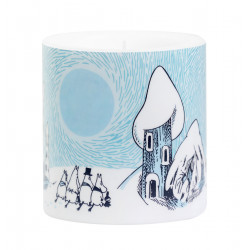 Moomin Candle Snowy Valley...