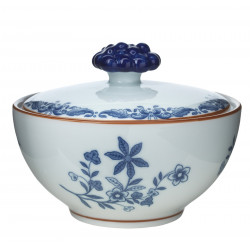 Rorstrand Ostindia Sugar Bowl with Lid 0.35 L
