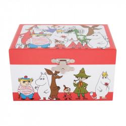 Moomin Characters Musical Box