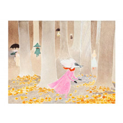 Moomin Poster Moominland in November 24 x 30 cm Putinki