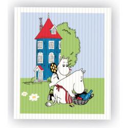 Moomin Dishcloth 17 x 20 cm...