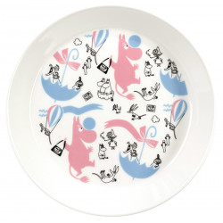 Moomin Collector Plate Stockmann Special Edition Arabia