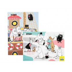 Moomin Puzzle Set of 2 x 20...