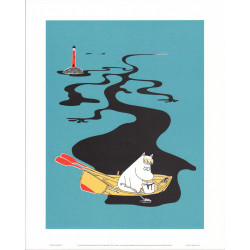 Moomin Retro Poster 24 x 30...