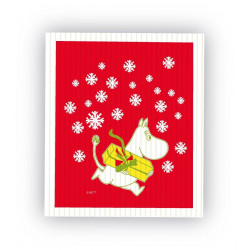 Dishcloth Moomin Christmas...