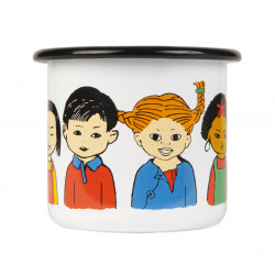 Enamel Mug 0.25 L Pippi of...