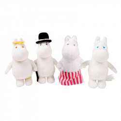 Moomin Family Set of 4 Soft...