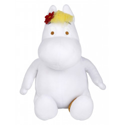 Moomin Tove 100 Soft Toy Moomin Snorkmaiden Sitting 29 cm