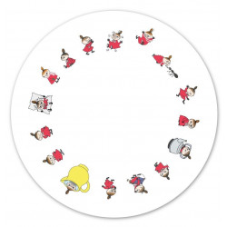 Moomin Pot Coaster Little...