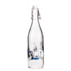Moomin Glass Bottle 0.5 L...