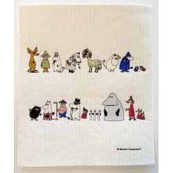 Moomin Dishcloth Moomins...