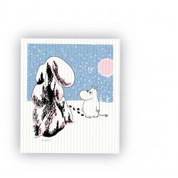 Moomin Dishcloth Deep Snow...