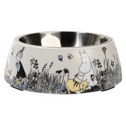 Moomin Pet Food Bowl L Grey...