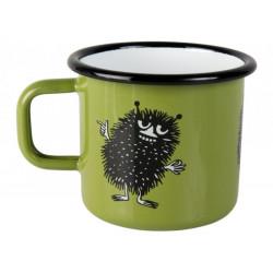 Moomin Enamel Mug Retro Stinky Green 0.25 L