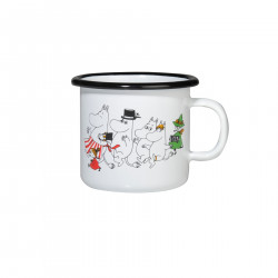 Moomin Enamel Mug Colors Moomin Valley 0.25 L