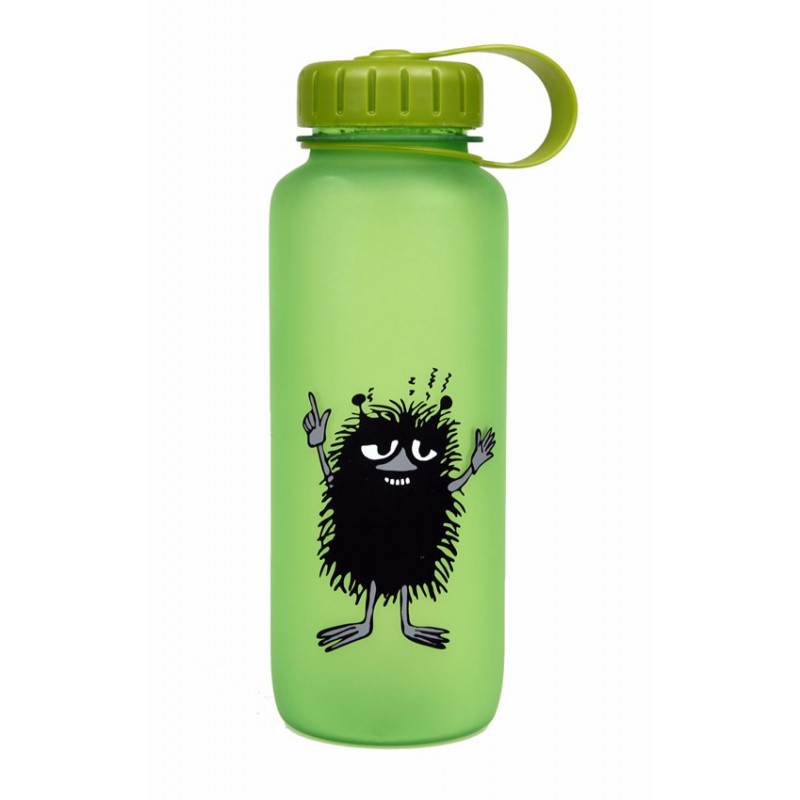 Moomin Stinky Plastic Drinking Bottle 0.65 L Green