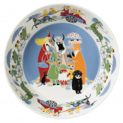 Moomin Serving Bowl 23 cm Friendship Arabia Finland